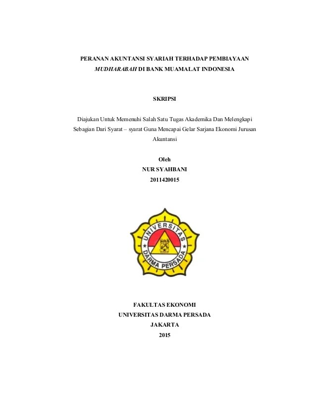 Judul Skripsi Perbankan Syariah : judul, skripsi, perbankan, syariah, Contoh, Skripsi, Akuntansi, Syariah, Pelajaran, Puisi, Pidato, Populer