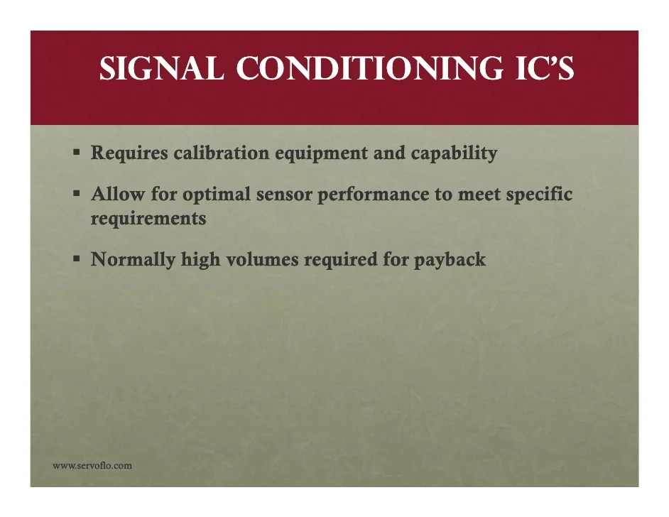 Highgain Signal Conditioning Circuit For Thin And Thick Film Sensors