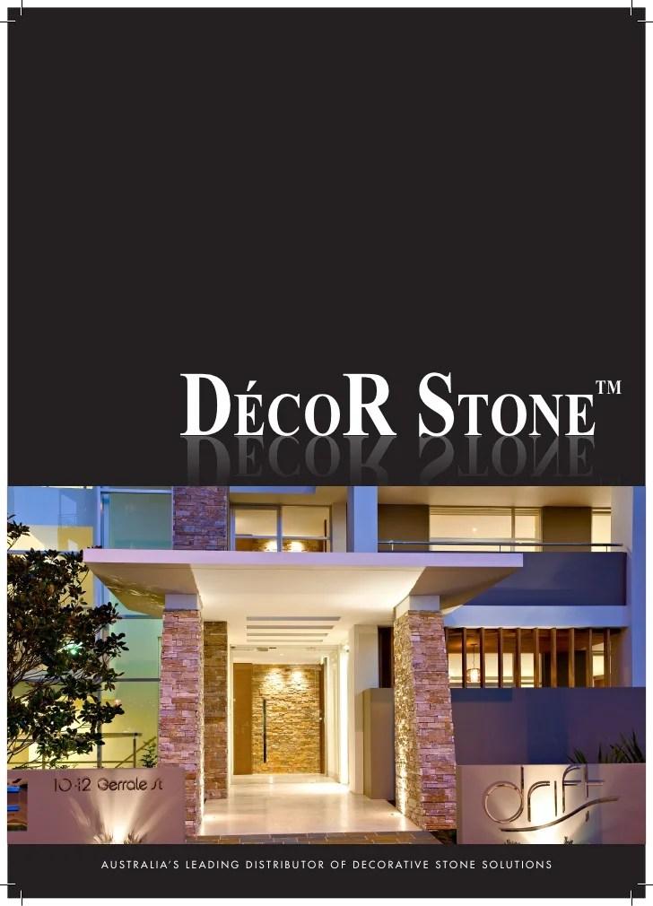 Decor Stone Brochure
