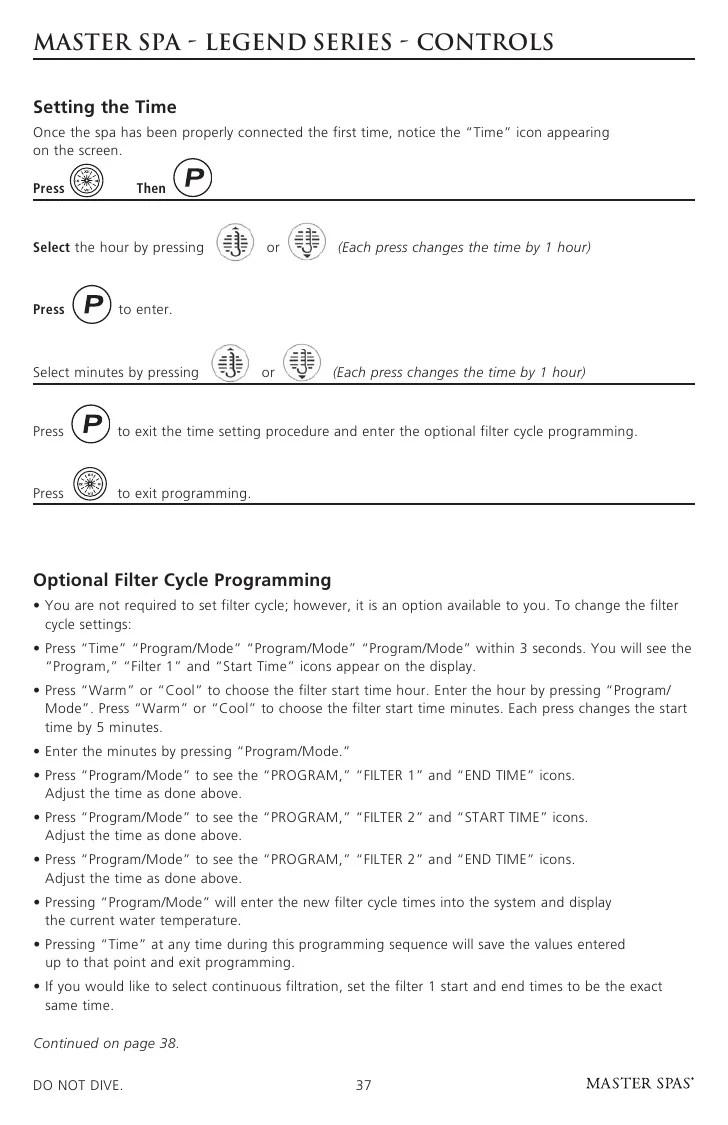 medium resolution of master spa legend owner s manual rh slideshare net spa wiring diagram schematic hot tub 220v