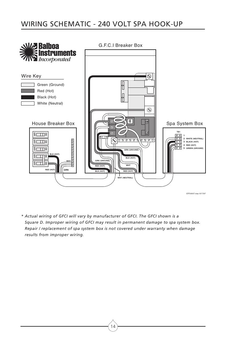 small resolution of master spa wiring diagram