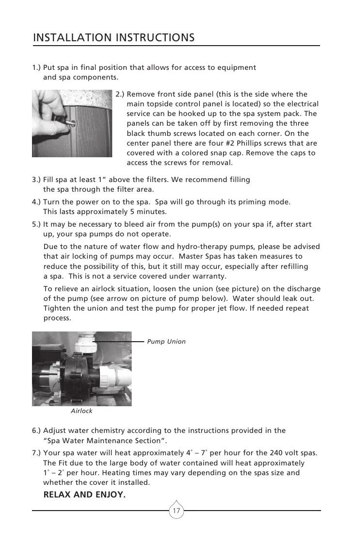 hight resolution of master spa wiring diagram