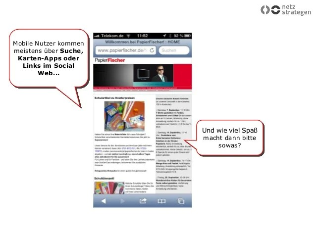 Aus dem Web ins Geschft Vortrag fr die Pirmasenser Zeitung