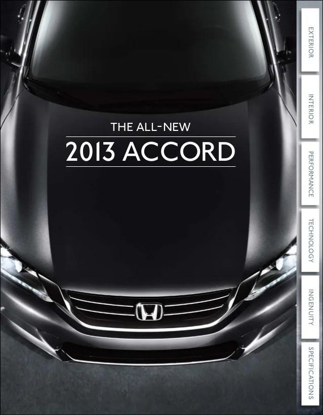2013 Honda Accord Brochure