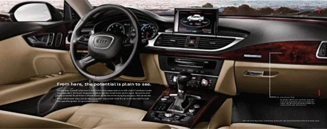 2013 Audi A7 Brochure MI  Detroit Audi Dealer