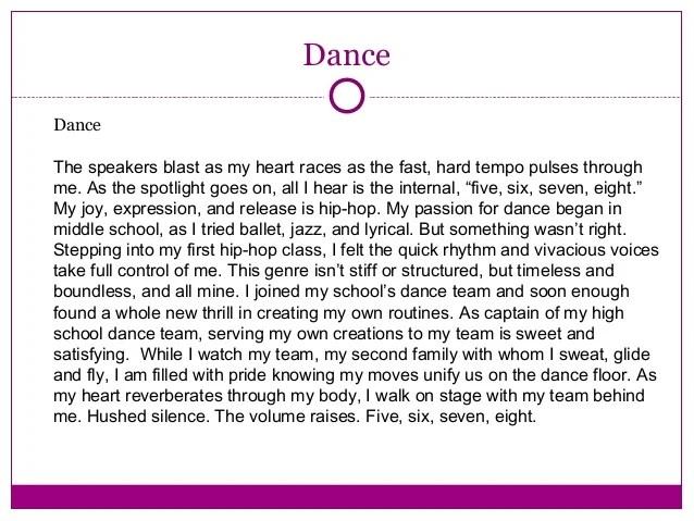 Dance Is A Sport Essay I Am Sam Essay Write A Compare And Contrast