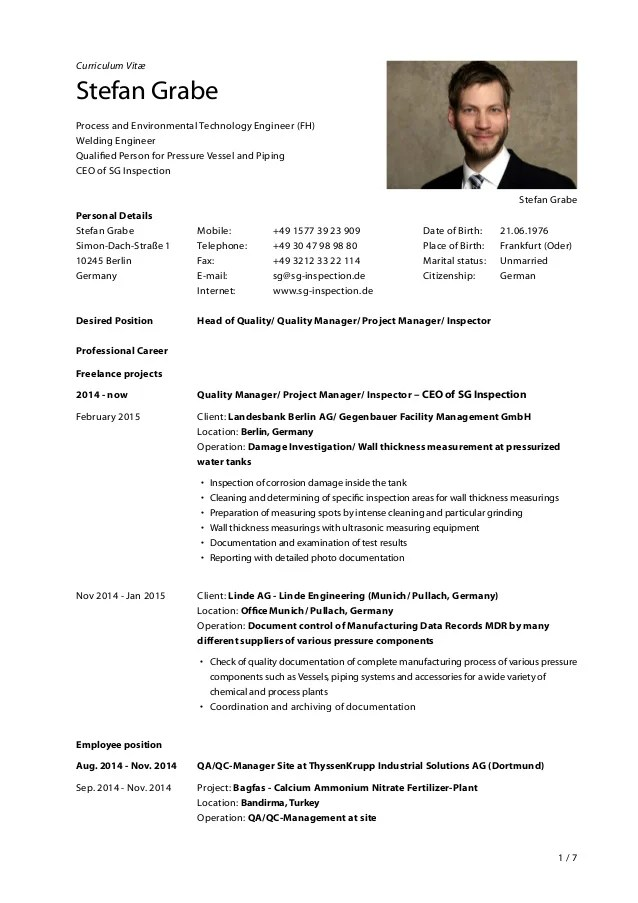 resume template fo