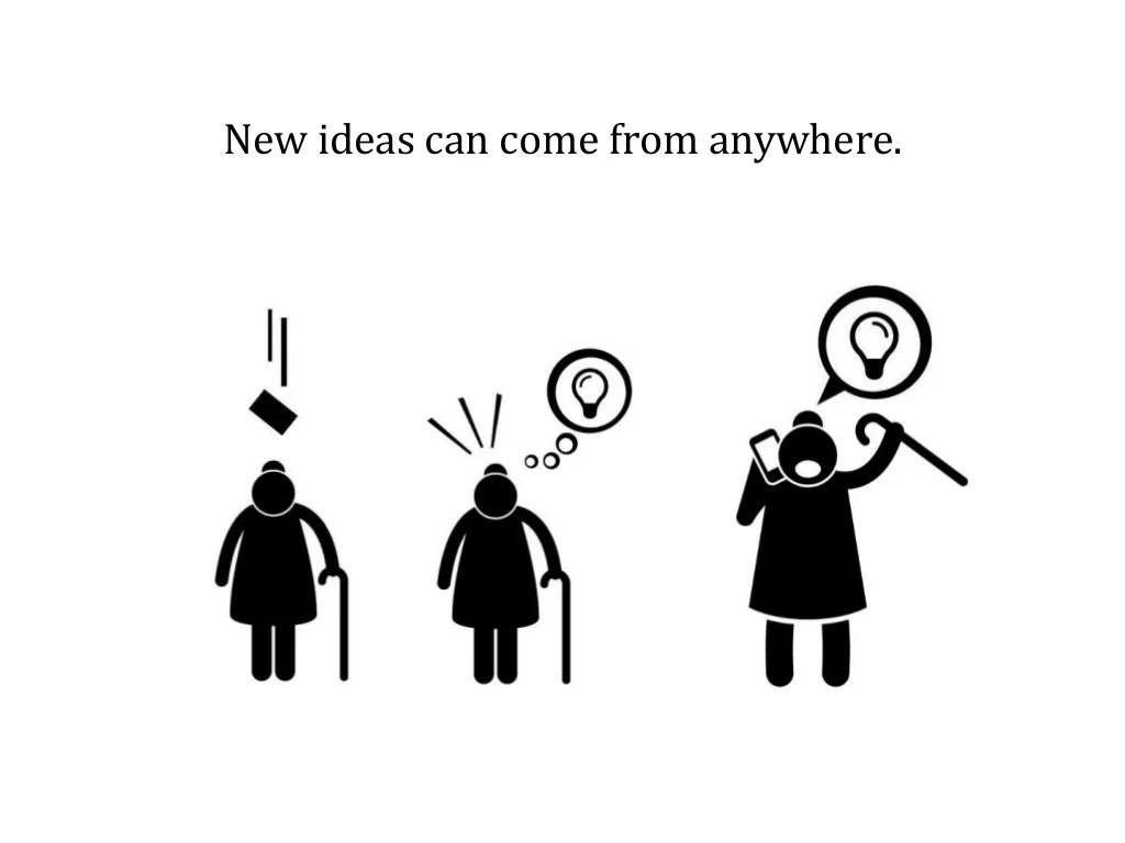 New Ideas Can Come From