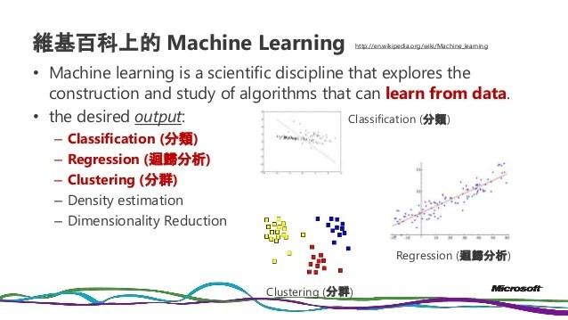 20151016 中興大學 big data + machine learning
