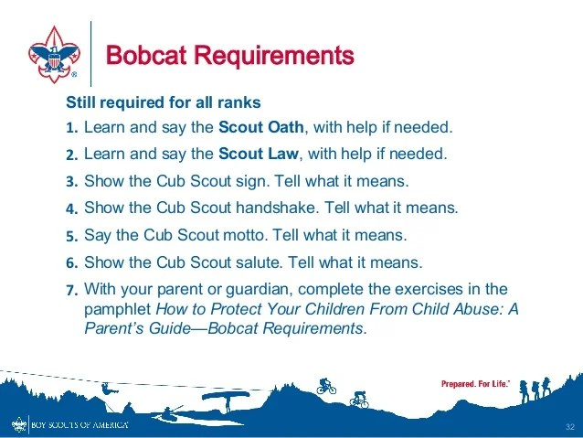 2015 Cub Scout Program Changes