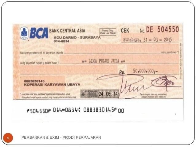 Contoh Cek Bank Mandiri Contoh Oliv Cute766