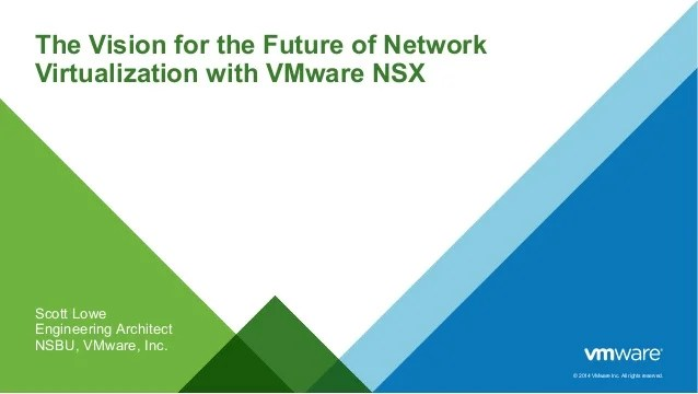 The Vision For The Future Of Network Virtualization With
