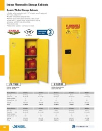 Indoor Flammable Storage Cabinets - DENIOS US