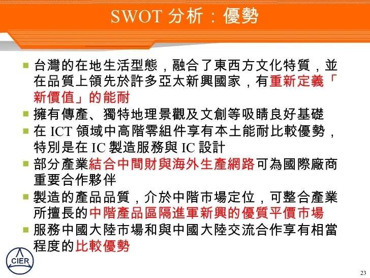 2020 臺灣產業發展願景與定位