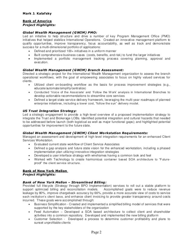 Page Numbers On Resume Example - Examples of Resumes