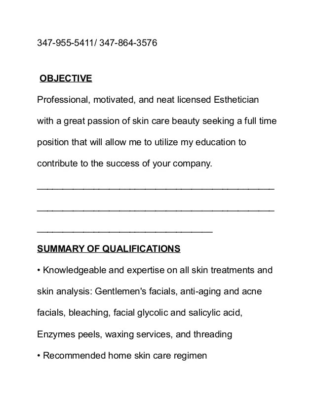 Makeup Artist Resume Objective  Saubhaya Makeup