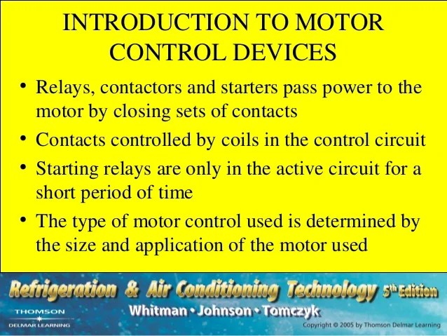 Introduction To Circuit And Motor Protection Motor Protection 4