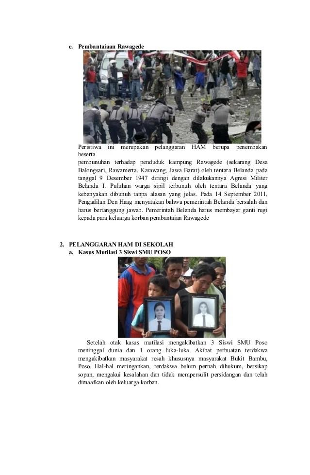 Pelanggaran Ham Di Lingkungan Sekolah : pelanggaran, lingkungan, sekolah, 251485395, Kliping-kasus-pelanggaran-ham-di-indonesia