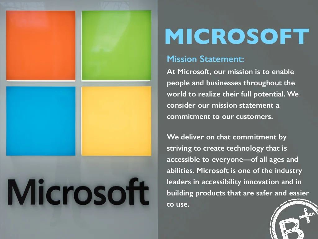business mission statement examples