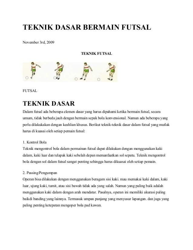 Permainan Pemanasan Menggunakan Bola : permainan, pemanasan, menggunakan, 27517771, Teknik-dasar-bermain-futsal
