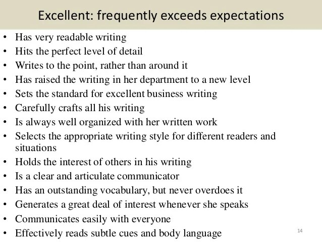 employee comment on performance appraisal example