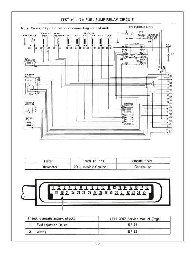 78 280Z WIRING DIAGRAM - Auto Electrical Wiring Diagram  Datsun Z Ecu Wiring Diagram on