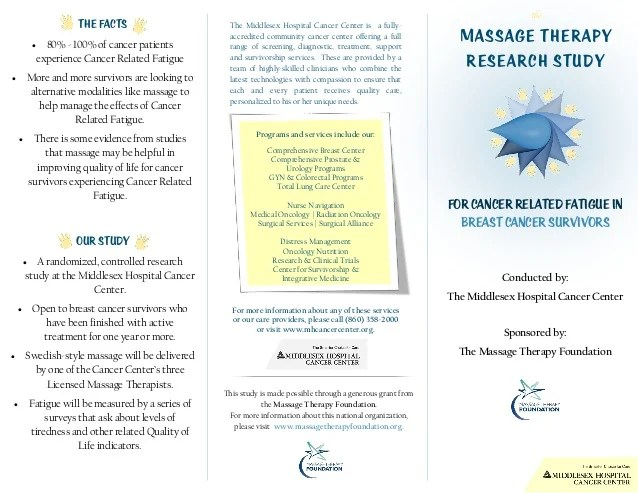 Massage Therapy Brochure Final