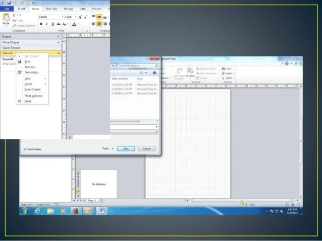In Visio 2010 Navigate To Data Tab And Click Link Data To Shapes