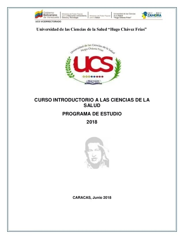 Programa Curso Introductorio Universidad Ciencias De La