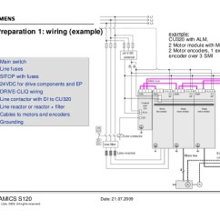 Sinamics S120 Wiring Diagram 2000 Delco Radio 2 Commissioning