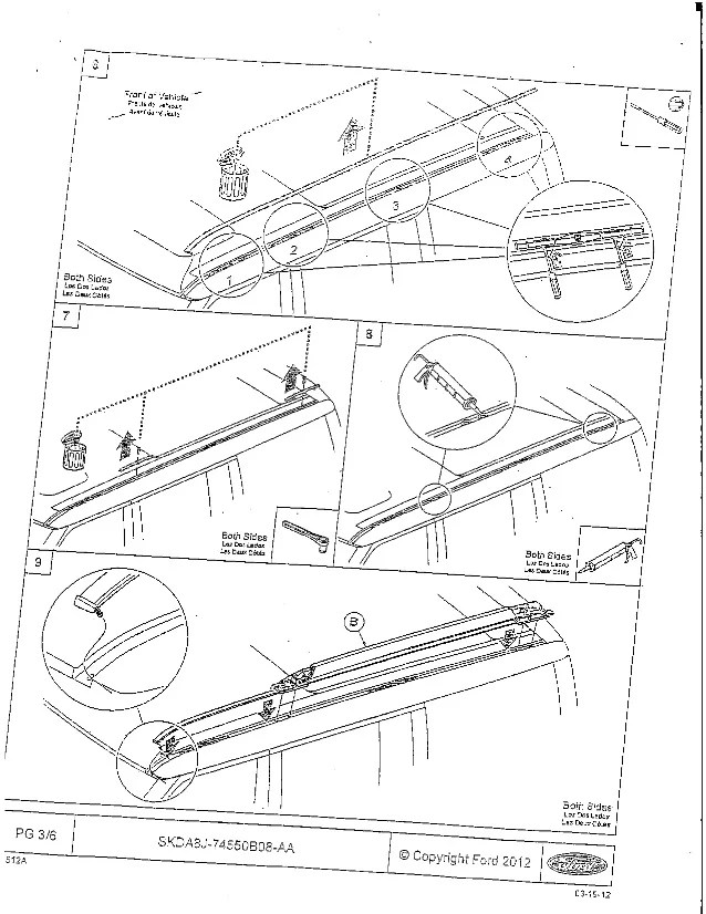 ford flex oem roof rack installation page 3