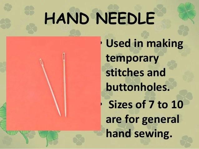 Pin Cushion Needle Eye