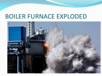 Safe Operation and Explosions in Boilers