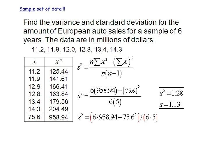 3.2 standard deviation