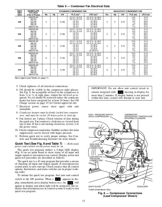 carrier 30gb chiller wiring diagram tongue worksheet 30 gt040 070 flotronic 12 13