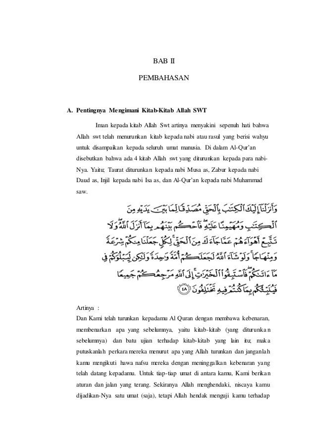 Arti Kitab Zabur : kitab, zabur, Makalah, Kitab, Zabur, Contoh