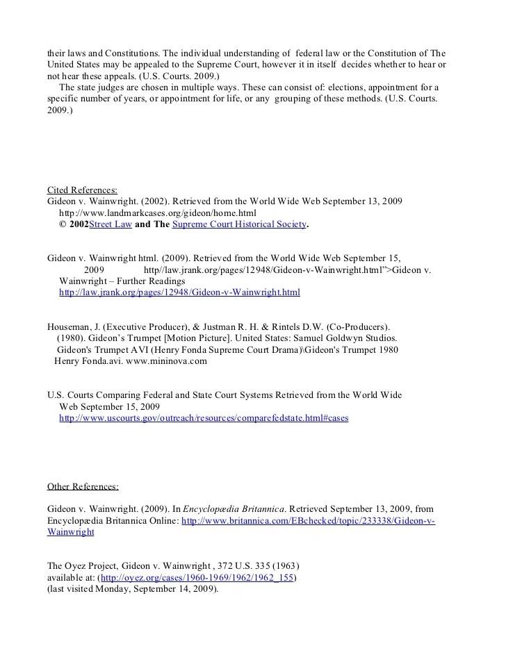 Defense attorney essay