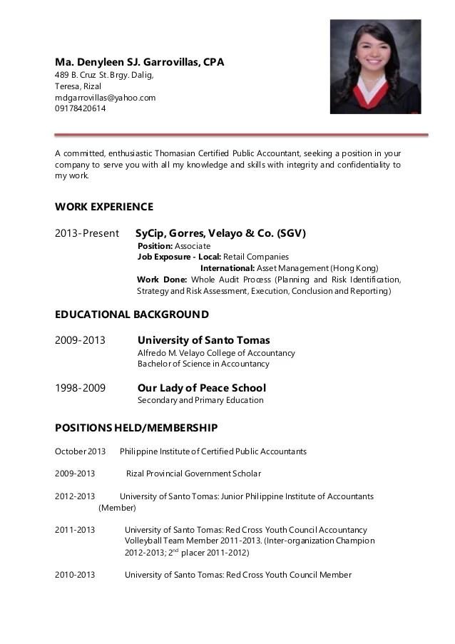 Den Resume