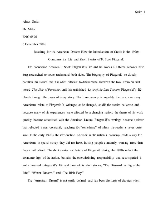 American Dream Essay My American Dream Essay My American Dream Essay