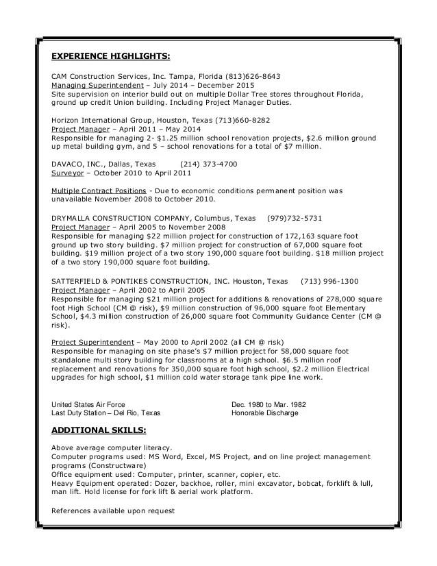 Resume  Wesley Geyer  122015