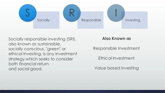 socially responsible investment funds