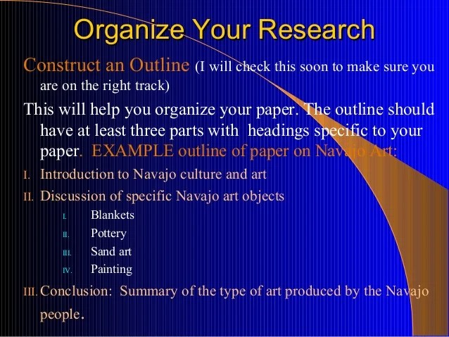 Art Research Paper Nuts And Bolts