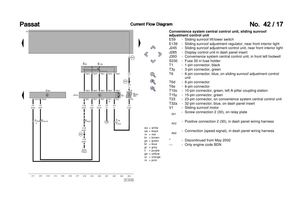 volkswagen fuses diagrams