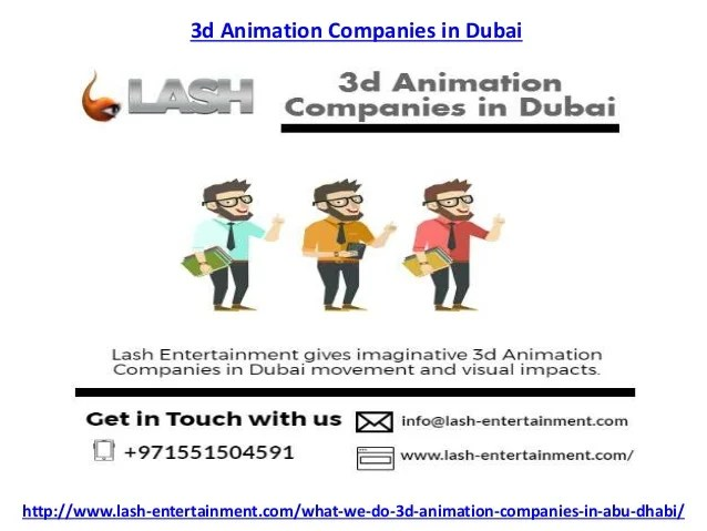 infographic animation video company in dubai