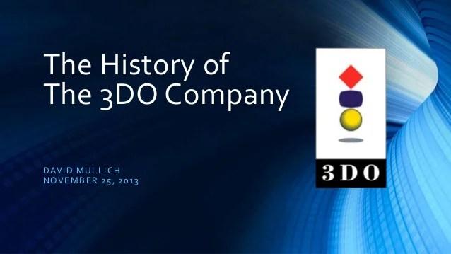 The History Of The 3do Company
