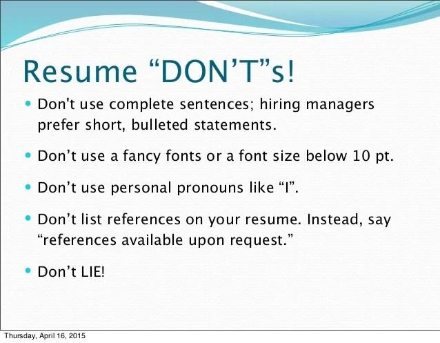 Best Font For Resume Lifehacker