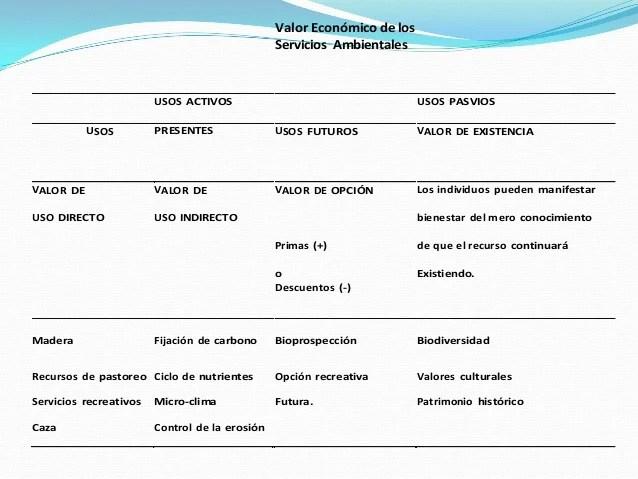 47 valoracion de los servicios ambientales