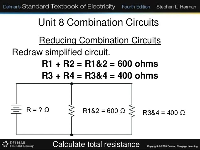 Series Parallel Circuit Solver Series Parallel Circuits