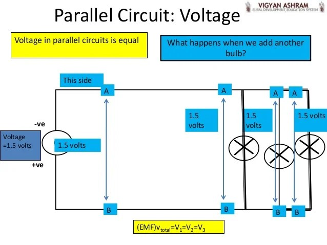 Voltage With A Parallel Circuit From Physics247com