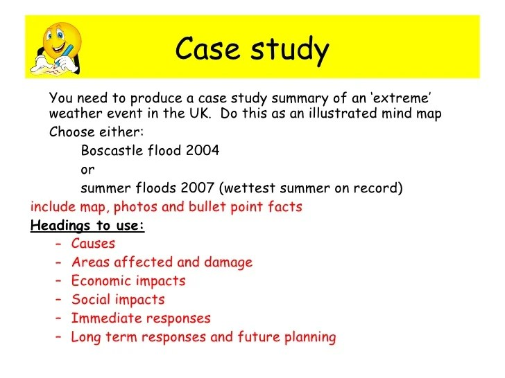 Boscastle Flood Facts